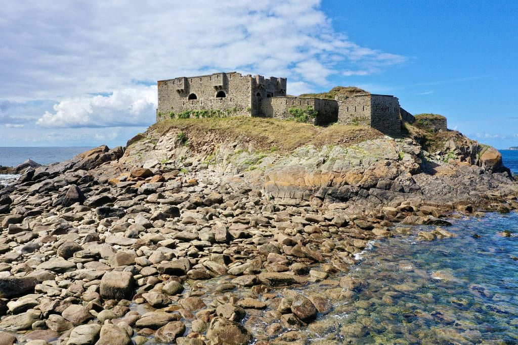 The fortification of Le Conquet in Brittany - France