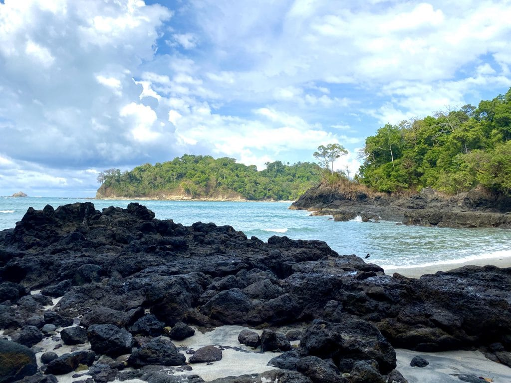 One of the beaches of Manuel Antonio National Park