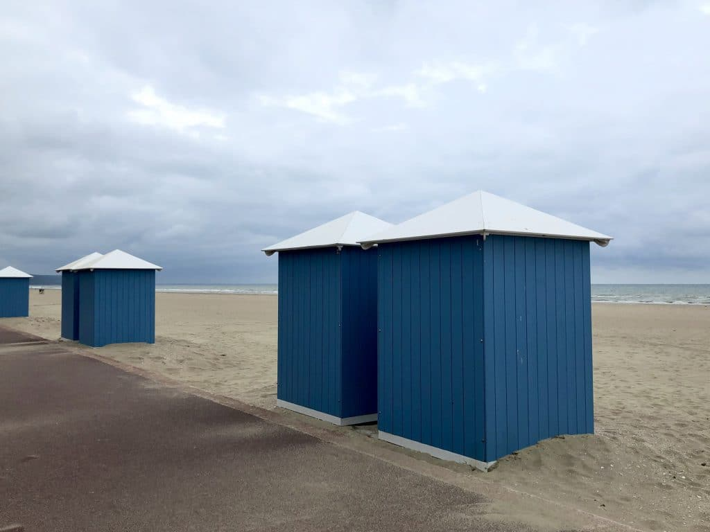 Beach scenery - Near Deauville