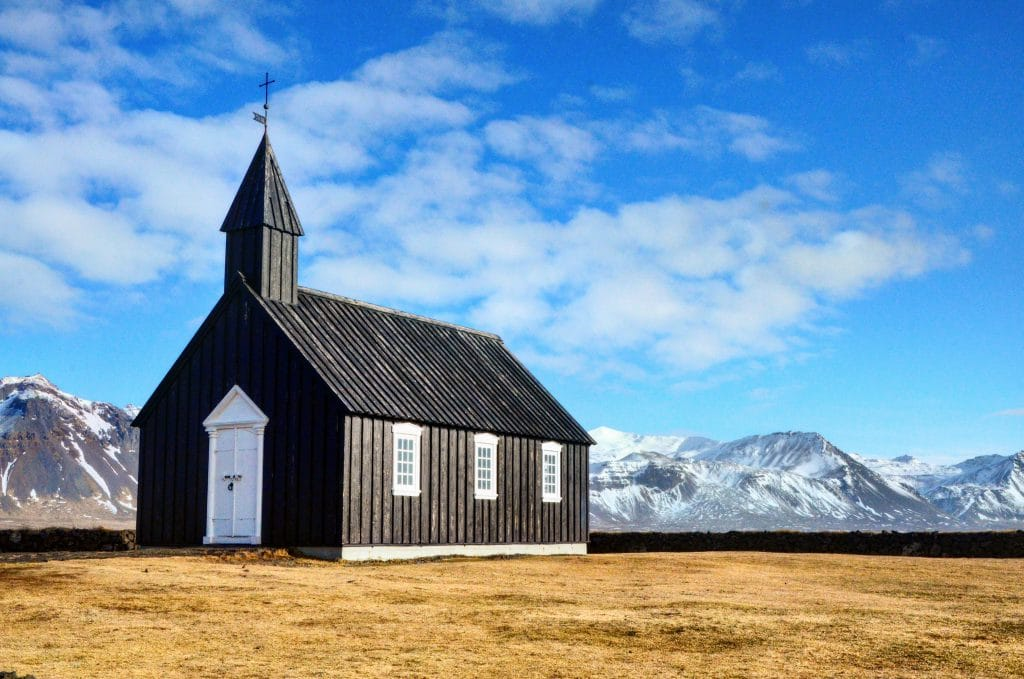 Black Church in Budir
