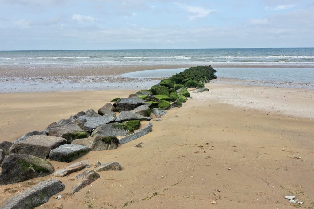A beach in Normandy