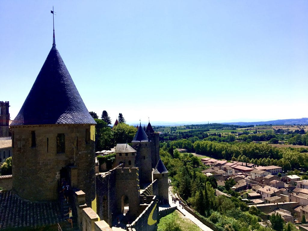 View from the Castle - Carcassonne
