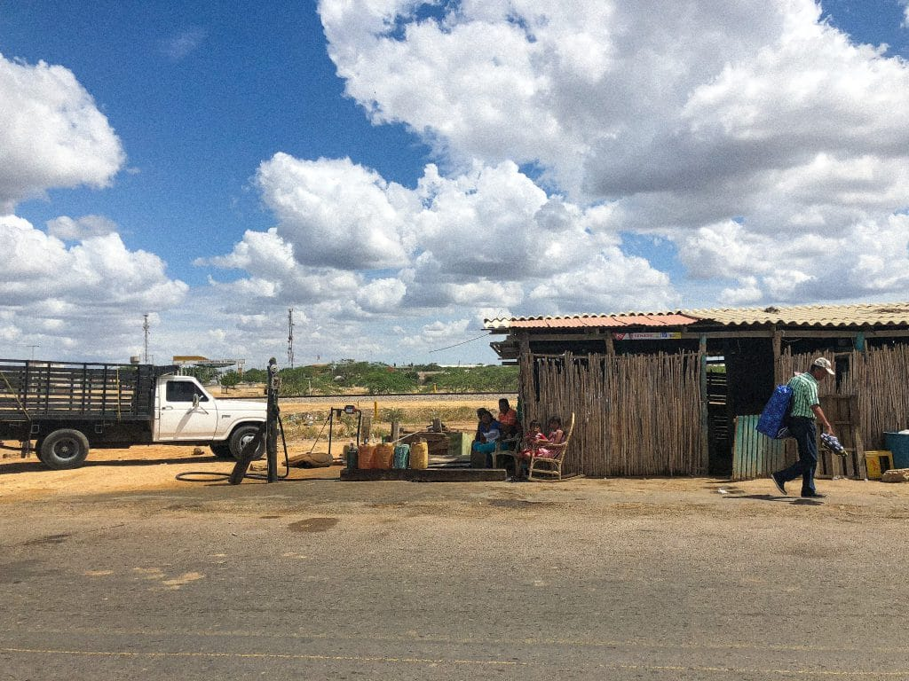 Uribia - the capital of the Wayuu