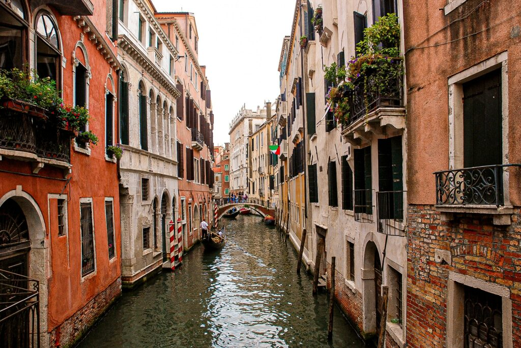 A canal in Venice - The birthplace of Marco Polo