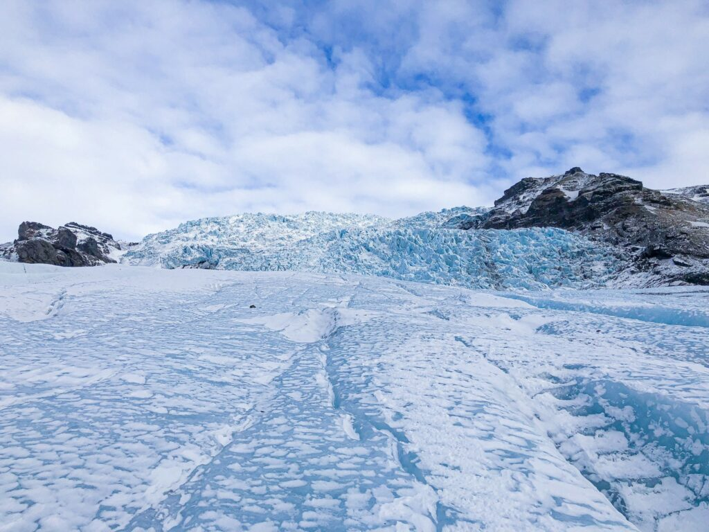 More than 10% of Iceland is covered by glaciers - Vatnajökull