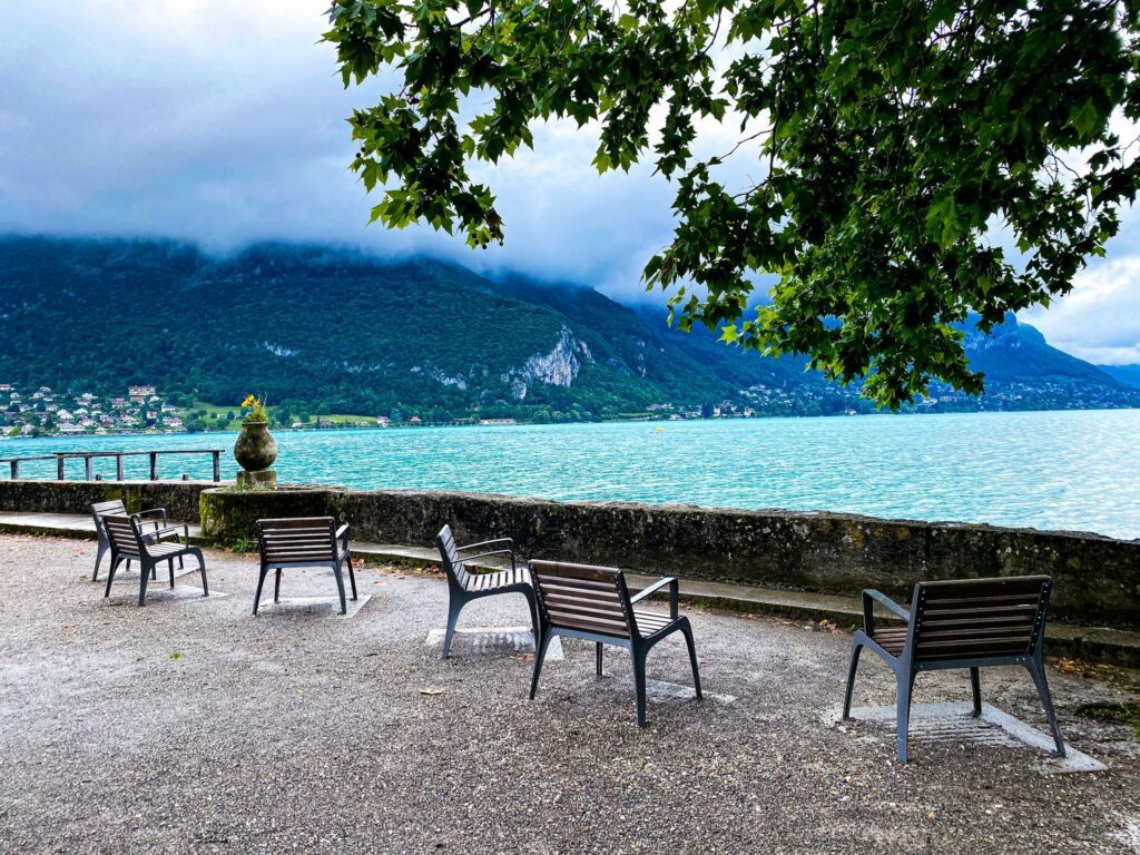 The lake of Annecy