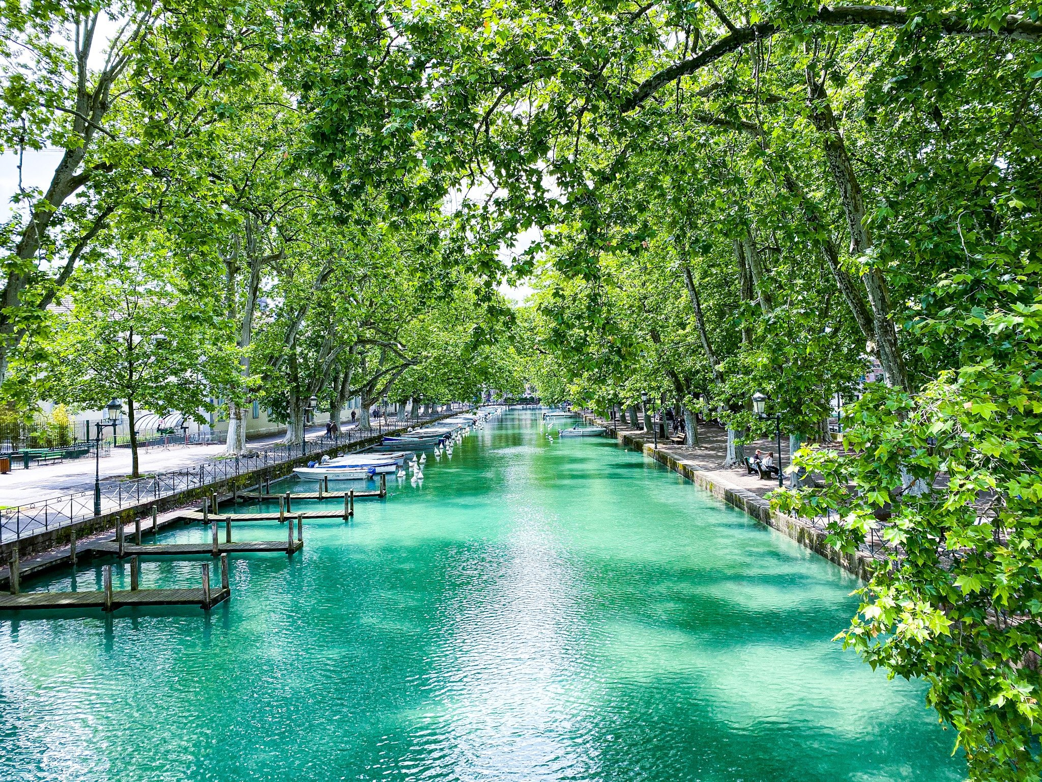 Canal Vassé in Annecy
