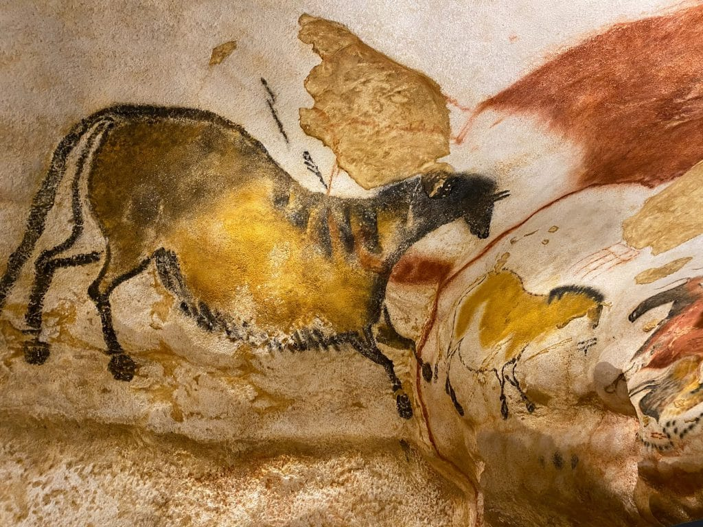 Cave painting in Lascaux - horses