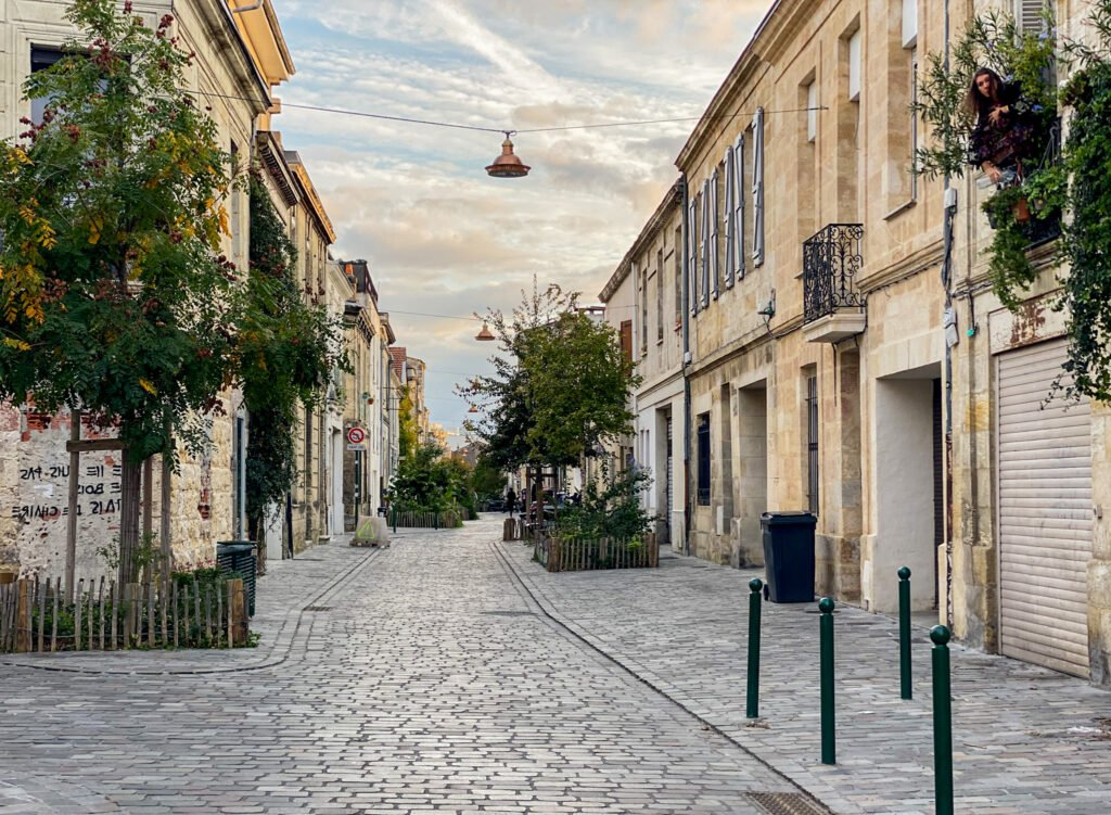 The cute streets of Bordeaux
