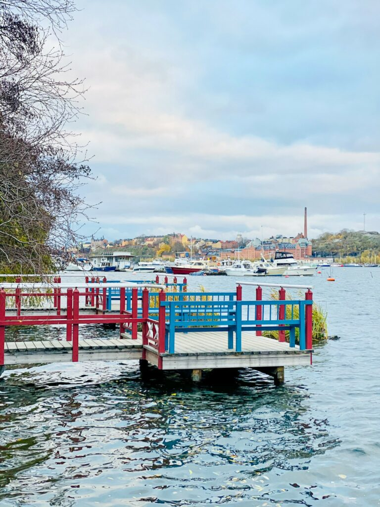 Kungsholmen island - the bank