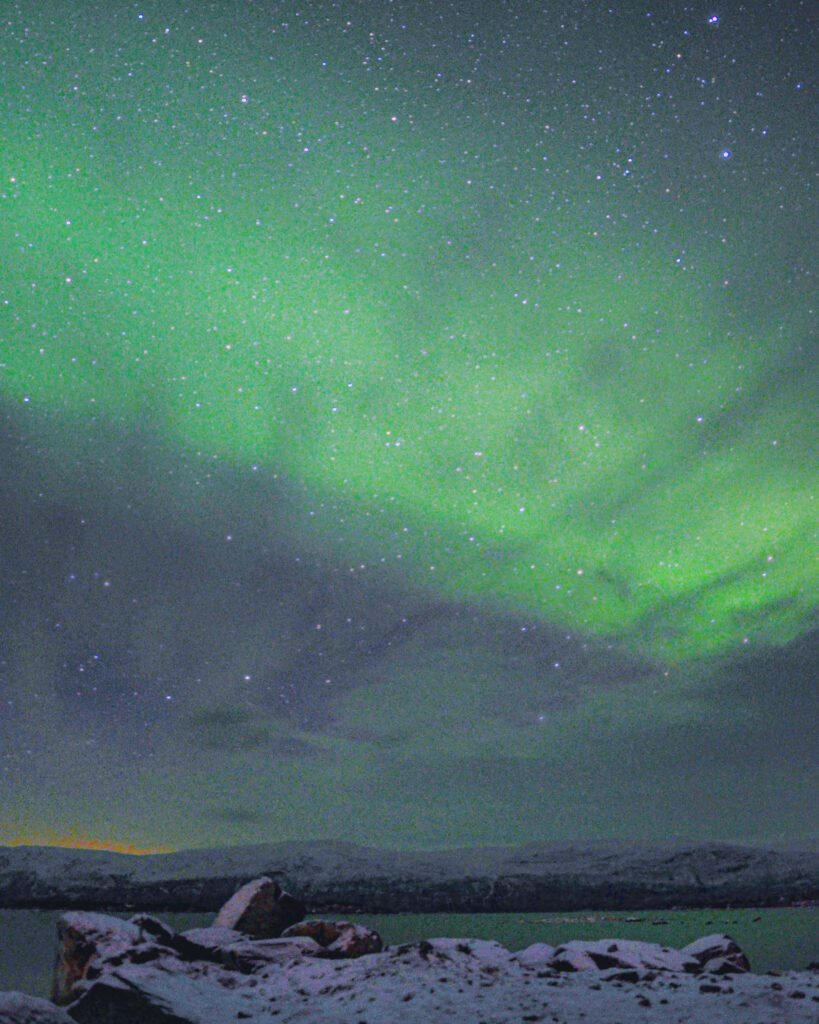 Another night of Northern Lights in Abisko National Park
