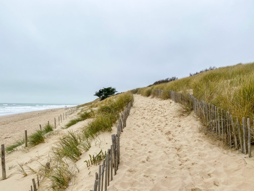 Bois-Plage and its dune