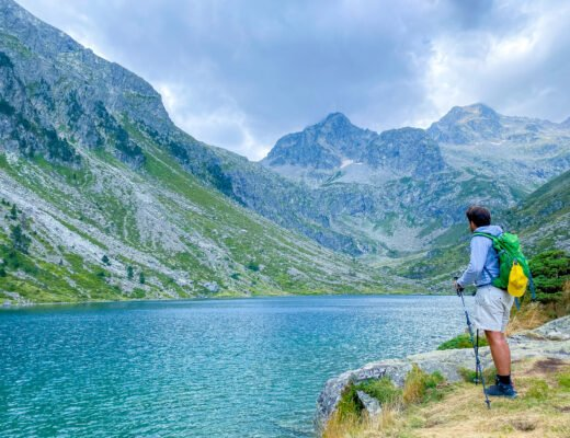 Estom lake, a hike from Cauterets