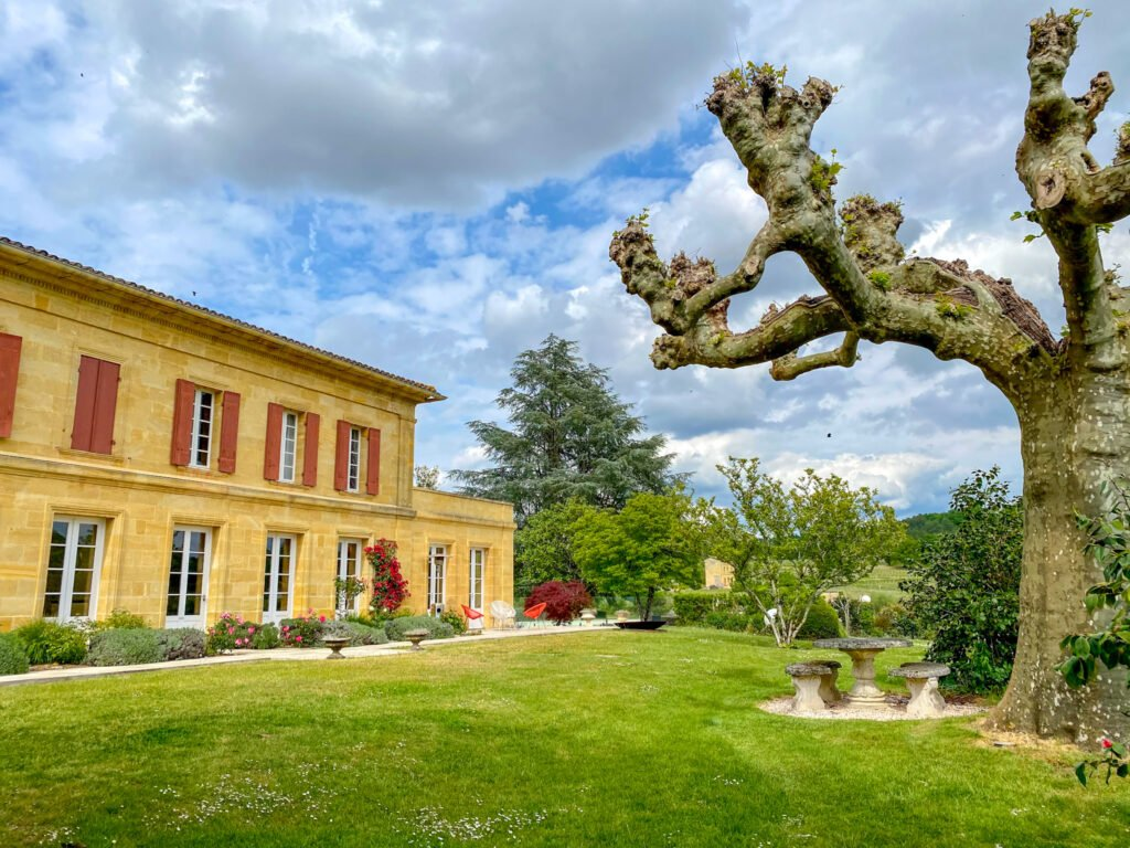 The Garden of the Château du Palanquey